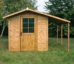 Casette arredi in legno catalogo on line for Casetta in legno con portico